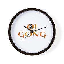 Qi Gong Design Wall Clock