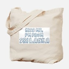 Kiss me: Sri Lanka Tote Bag