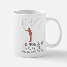 Old Fisherman Never Die Mug