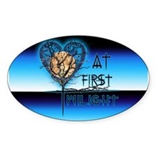Twilight Moon Majestic 2 Oval Decal