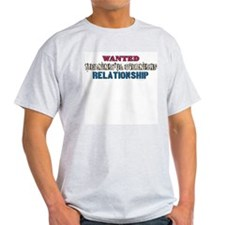 Wanted: Meaningful ... Ash Grey T-Shirt