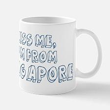 Kiss me: Singapore Small Small Mug