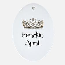 Brendan's Aunt Oval Ornament