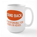 Stand Back Large Mug