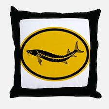 Sturgeon Throw Pillow