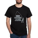 Surfcasters Longer Rods Dark T-Shirt