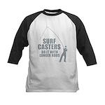 Surfcasters Longer Rods Kids Baseball Jersey