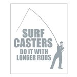 Surfcasters Longer Rods Small Poster
