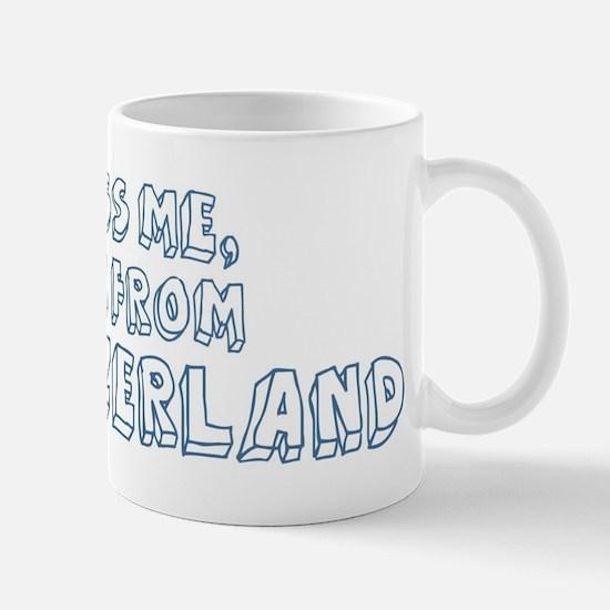 Kiss me: Switzerland Mug