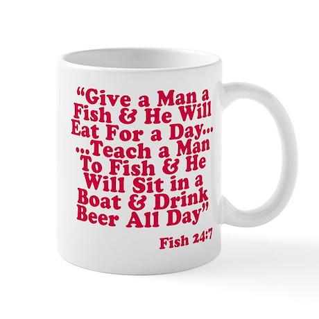 Teach A Man To Fish Mug