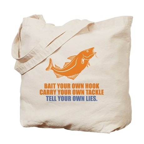 Tell Your Own Lies Tote Bag