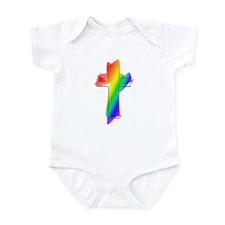 Rainbow Cross Infant Bodysuit