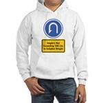 U-Turn Fishing Hook Hooded Sweatshirt