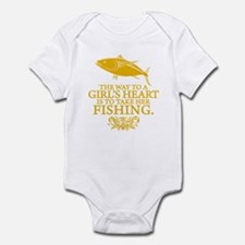 The Way To A Girl's Heart Infant Bodysuit