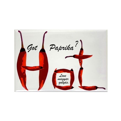 Hot! Got paprika? Rectangle Magnet (10 pack)