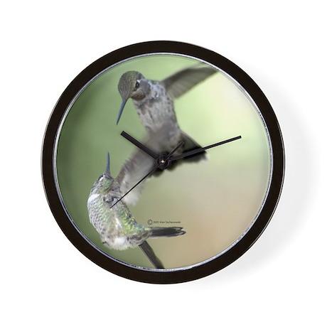 Hummingbird Wall Clock (Wars)