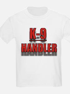 """""""K-9 HANDLER"""" Kids T-Shirt"""