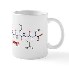 James name molecule Mug