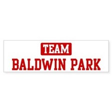 Team Baldwin Park Bumper Bumper Sticker