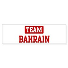 Team Bahrain Bumper Bumper Sticker