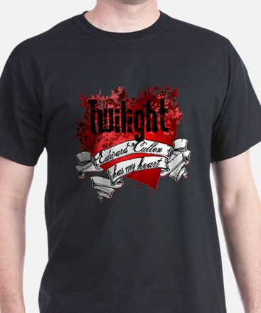 Edward Cullen Tattoo Style T-Shirt