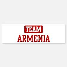 Team Armenia Bumper Bumper Bumper Sticker