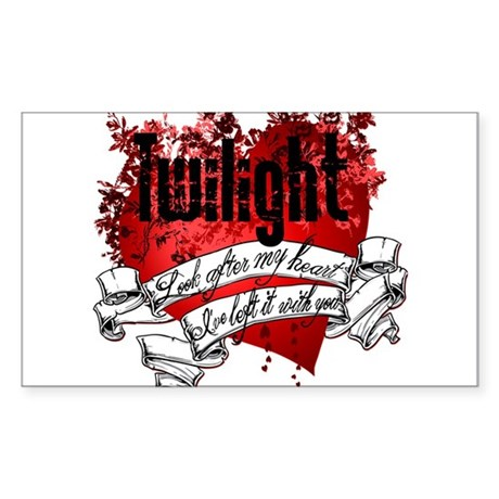 Twilight Tattoo Rectangle Sticker 10 pk)