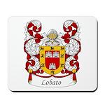 Lobato Family Crest Mousepad