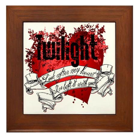 Twilight Tattoo Framed Tile