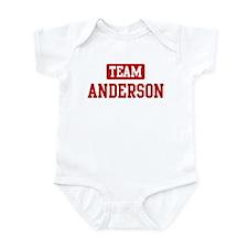 Team Anderson Infant Bodysuit