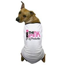 I Think Pink For My Grandmother 1 Dog T-Shirt