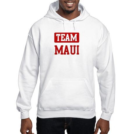 Team Maui Hooded Sweatshirt
