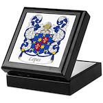 Lopes Family Crest Keepsake Box