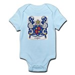 Lopes Family Crest Infant Creeper