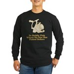 To Boldly Fish Long Sleeve Dark T-Shirt