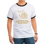 To Boldly Fish Ringer T