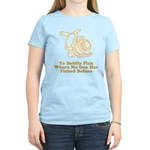 To Boldly Fish Women's Light T-Shirt