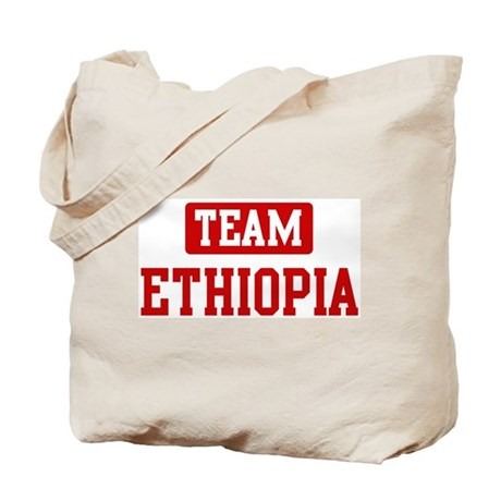 Team Ethiopia Tote Bag