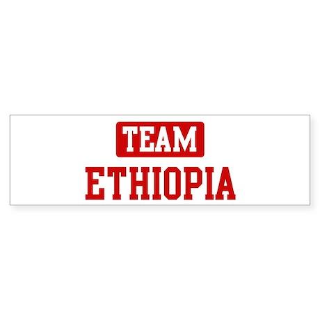Team Ethiopia Bumper Sticker