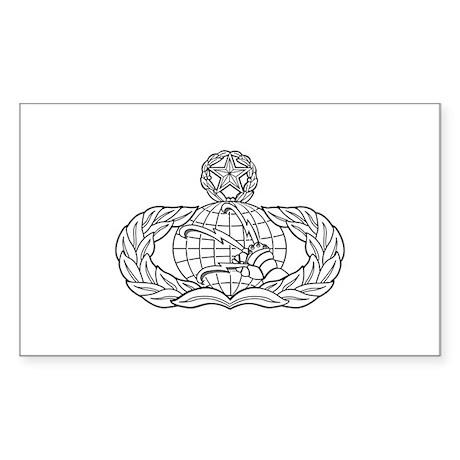 Communication Rectangle Sticker