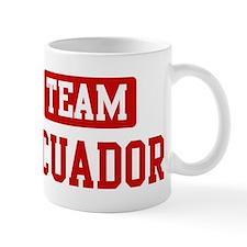 Team Ecuador Mug