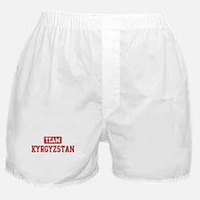 Team Kyrgyzstan Boxer Shorts