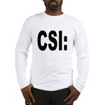 CSI Crime Scene Investigation (Front) Long Sleeve