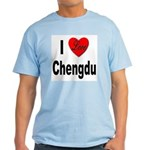 I Love Chengdu China Light T-Shirt