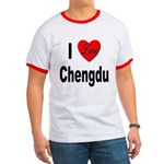 I Love Chengdu China Ringer T