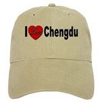 I Love Chengdu China Cap
