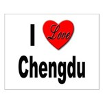 I Love Chengdu China Small Poster