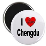 I Love Chengdu China Magnet