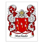 Machado Family Crest Small Poster