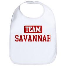 Team Savannah Bib